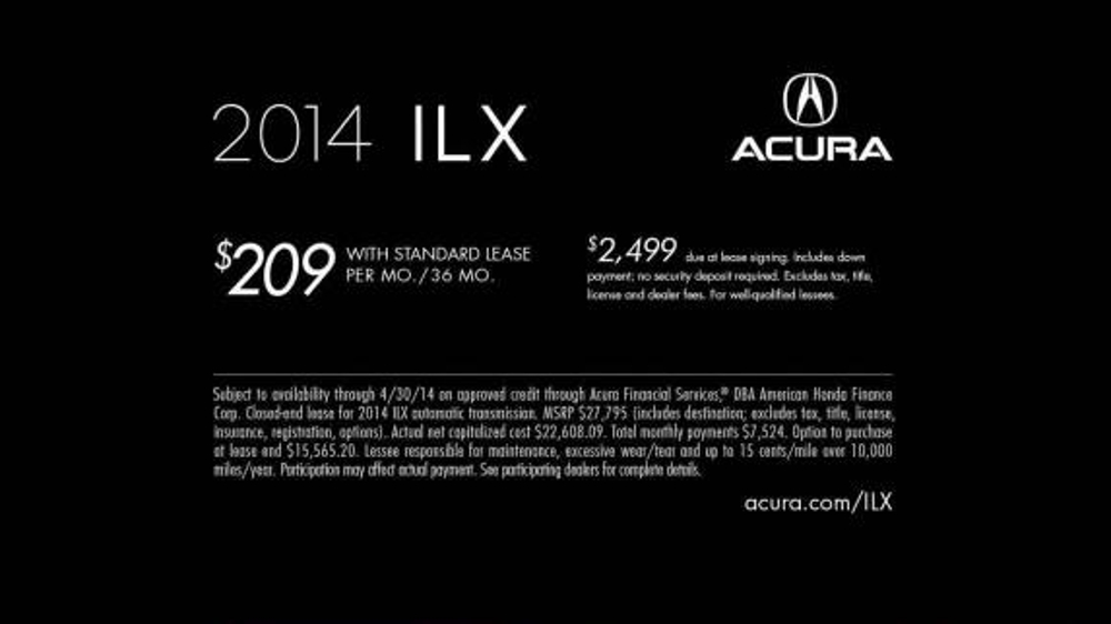 2014 Acura ILX TV Spot, 'Quarter-Life Crisis' - Screenshot 10