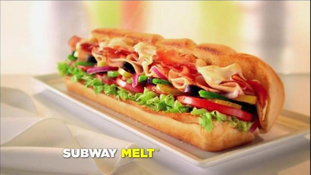 Subway tv spot ode to subway melt screenshot 8