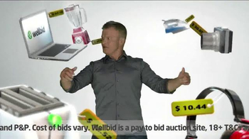 Wellbid TV Spot, 'Bargain Hunter Instict'