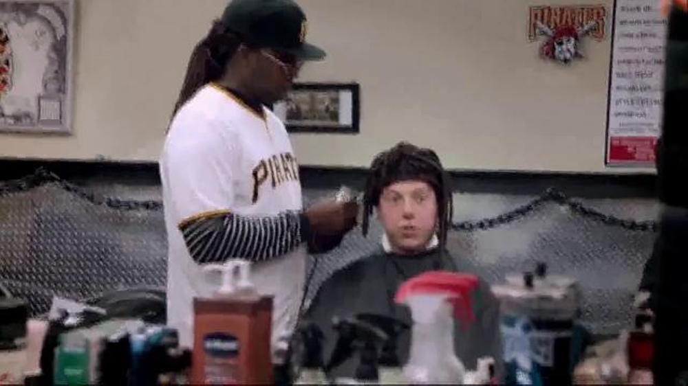 Major League Baseball TV Spot, 'Cutch Hair' Featuring Andrew McCutchen - Screenshot 5