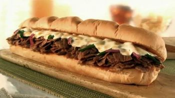 Subway TV Spot, 'Ode to the Big Philly Cheesesteak'