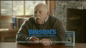 Binson's Medical Equipment TV Spot, 'All Your Needs' Feat. Wilford Brimley