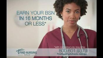 Find Nursing Schools TV Spot