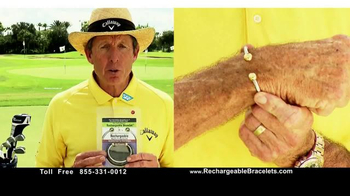 The David Leadbetter Rechargeable Bracelet TV Spot, 'Stay Healthy'