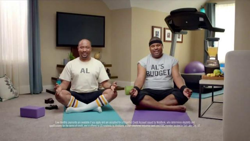 FingerHut.com TV Spot, 'Al and Al's Budget: Yoga'
