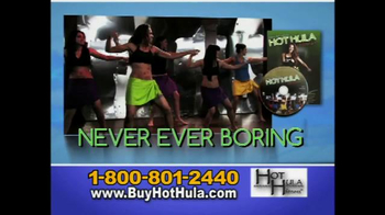 Hot Hula Fitness TV Spot, 'Get It All!'