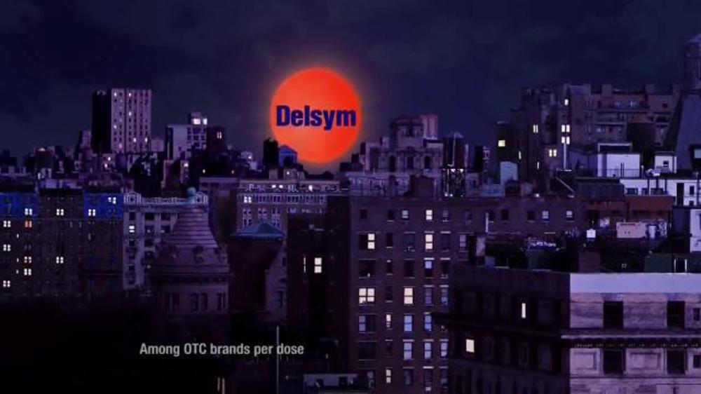 Delsym TV Spot 'Disrupts Everyone's Life'