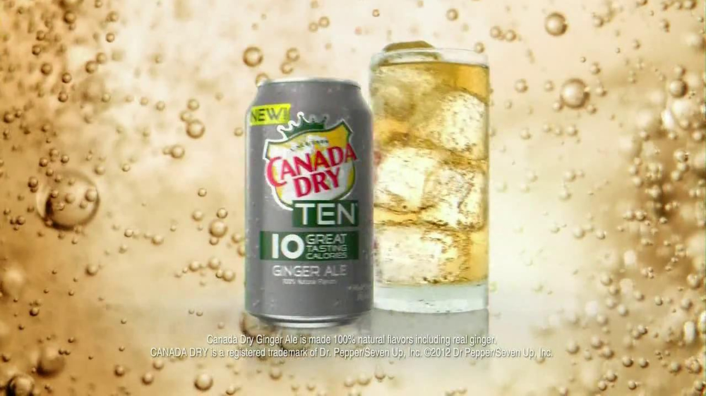 Canada Dry TV Spot, 'Ginger Ale Stand' - Screenshot 10