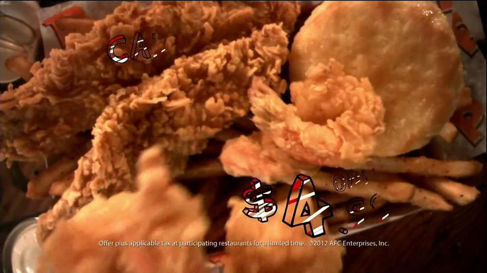 Popeyes Cajun Surf and Turf TV Spot, 'Cajun Market' - Screenshot 6