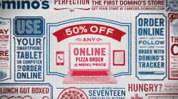 Domino's Pizza TV Spot, '50% Off'