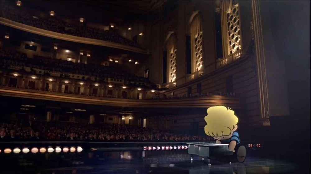 Metlife TV Spot 'Concert' Featuring Peanuts Gang - Screenshot 2