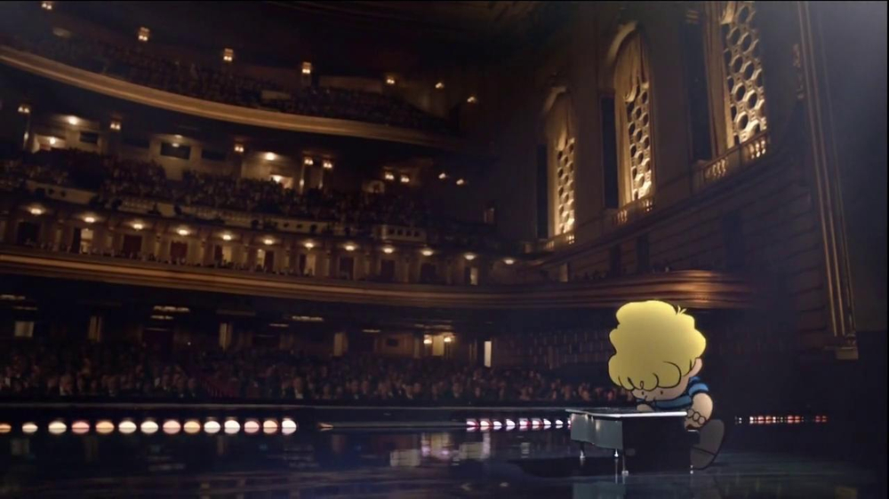 Metlife TV Spot 'Concert' Featuring Peanuts Gang - Screenshot 9