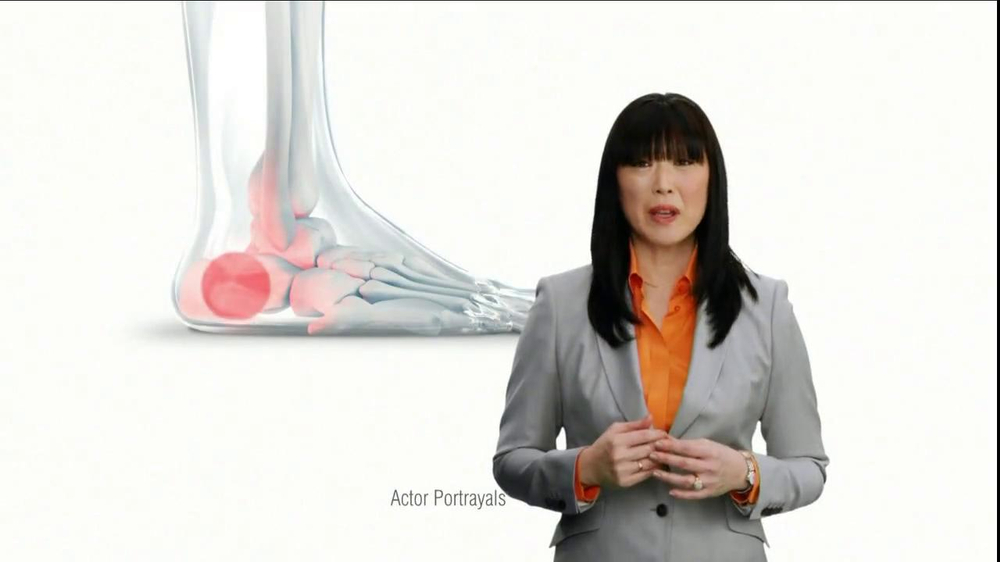 Dr. Scholl's Pain Relief Orthotics TV Spot  - Screenshot 2