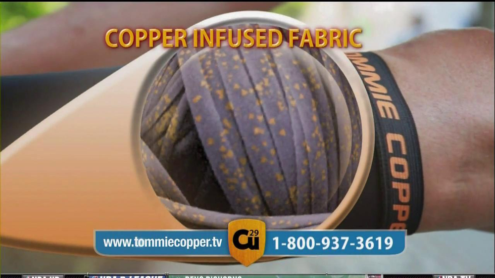 Tommie Copper Compression Sleeve TV Spot Featuring Montel Williams  - Screenshot 7