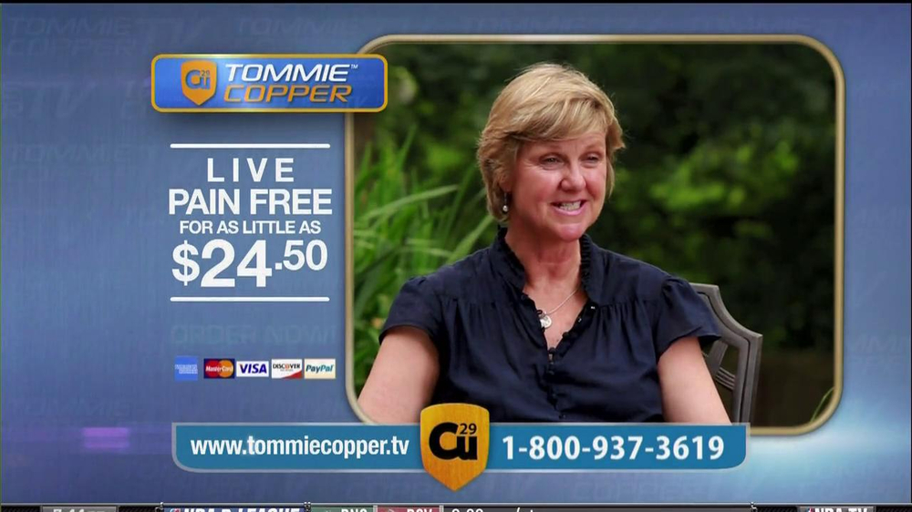 Tommie Copper Compression Sleeve TV Spot Featuring Montel Williams  - Screenshot 8