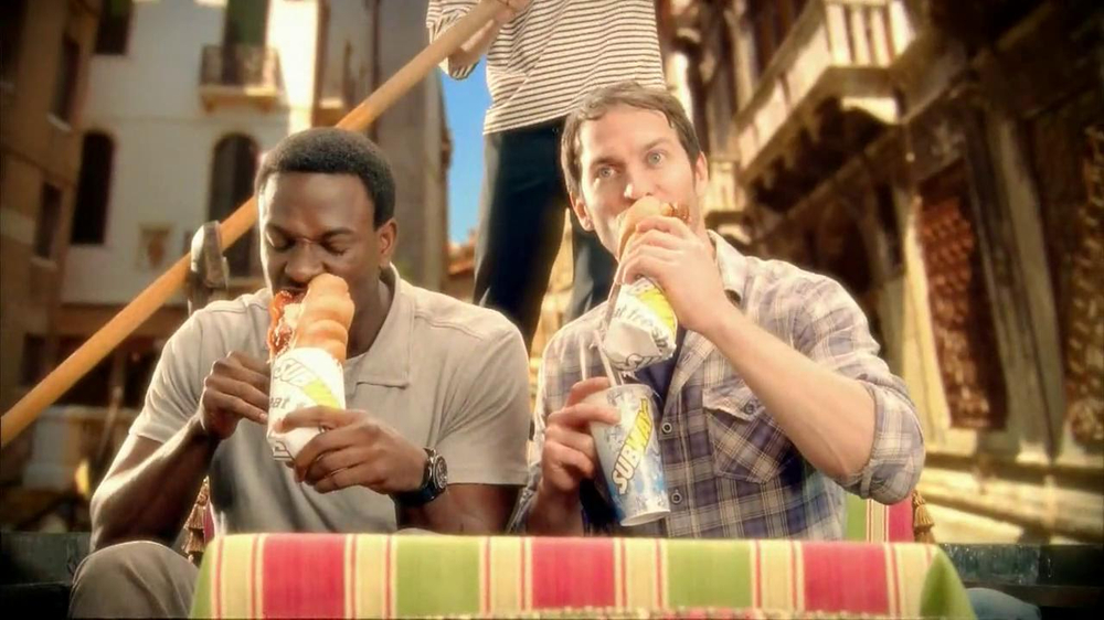 Subway Meatball Pepperoni Melt TV Spot, 'Italy Daydream: Gondola' - Screenshot 3
