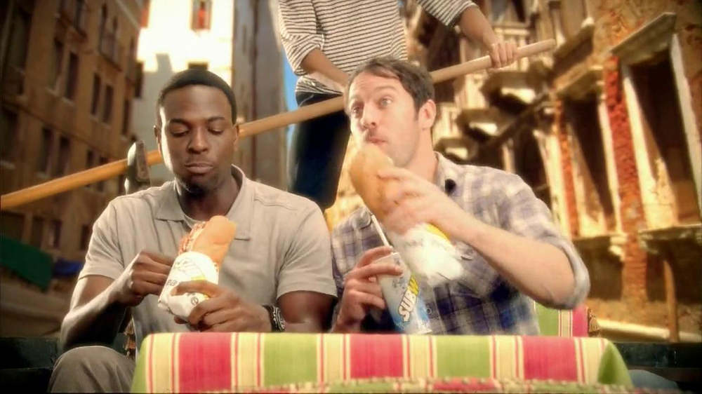 Subway Meatball Pepperoni Melt TV Spot, 'Italy Daydream: Gondola' - Screenshot 4