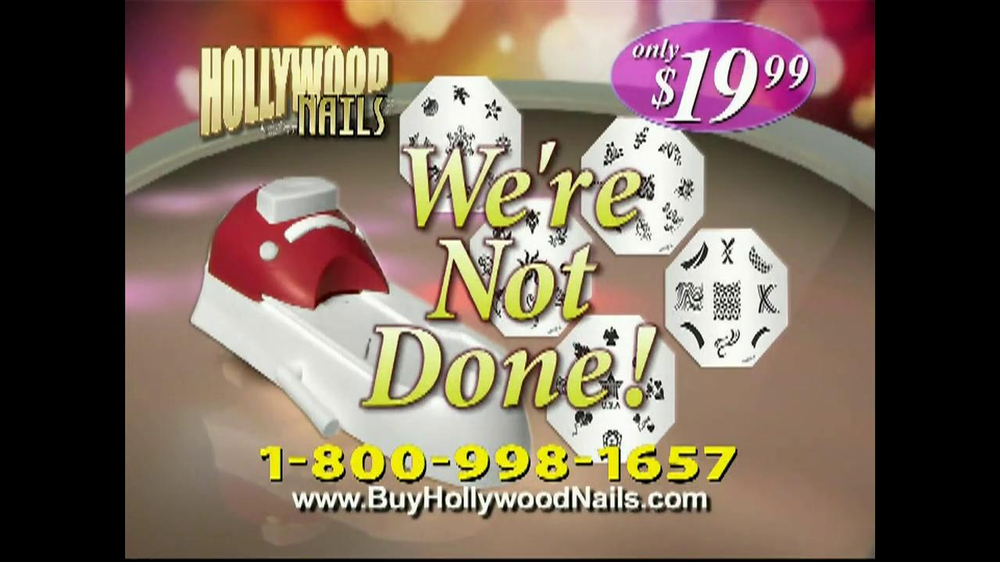 Hollywood Nails TV Spot - Screenshot 7