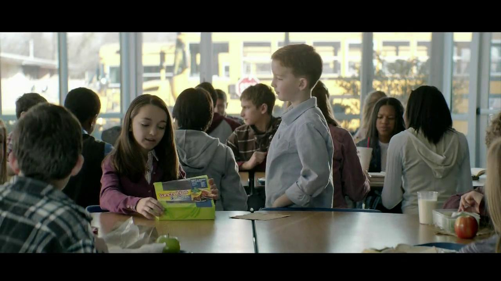 Lunchables with Smoothie TV Spot, 'Kid Pickup Lines' - Screenshot 8