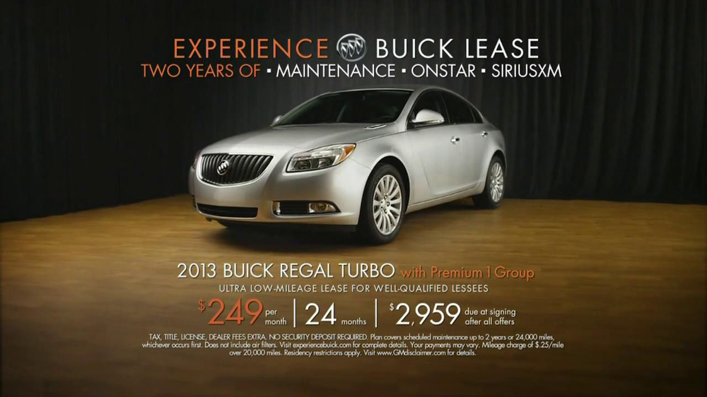 2013 Buick Regal Turbo TV Spot, 'Sewing White Quilt' - Screenshot 9