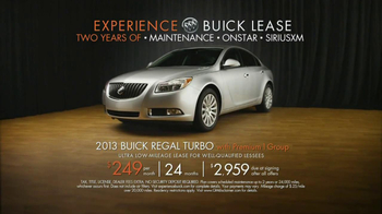 2013 Buick Regal Turbo TV Spot, 'Sewing White Quilt' - Thumbnail 9