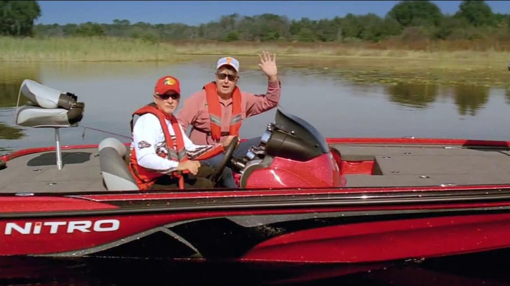 Bass pro shops gear up sale tv commercial 39 gift card for Major league fishing shop