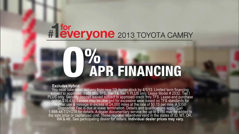 2013 Toyota Camry TV Spot, 'Hand-Me Downs' - Screenshot 7