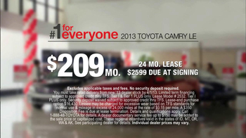 2013 Toyota Camry TV Spot, 'Hand-Me Downs' - Thumbnail 8