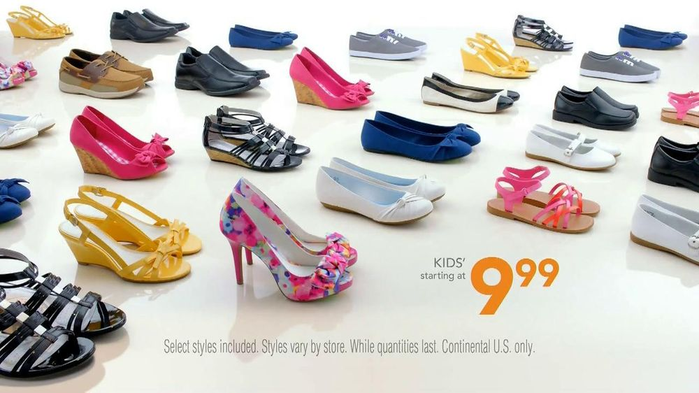 Payless Shoe Source Easter Sale TV Spot, 'The Look' - Screenshot 10