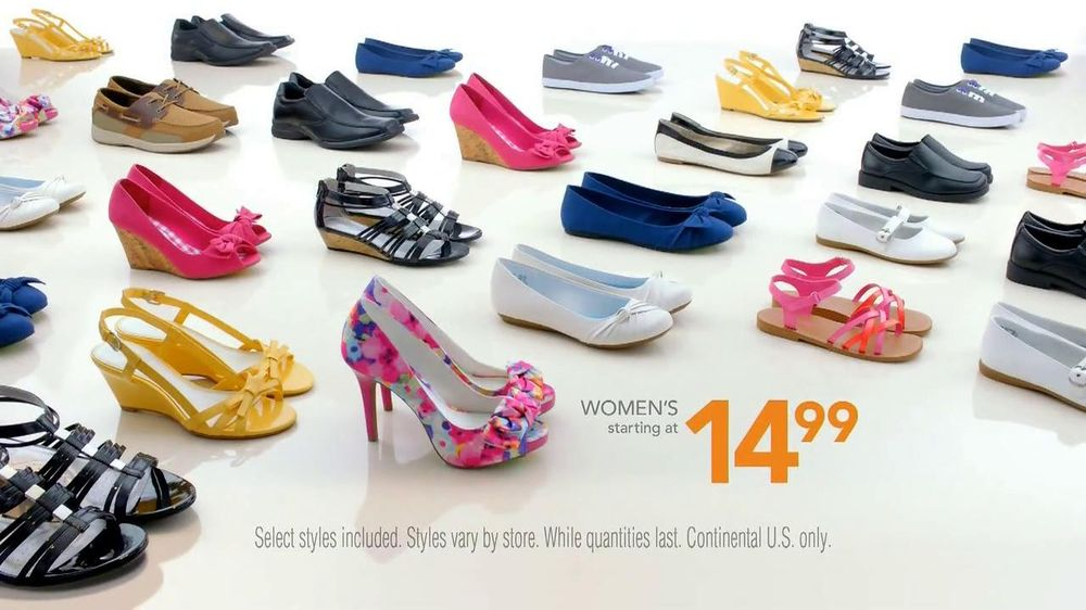Payless Shoe Source Easter Sale TV Spot, 'The Look' - Screenshot 9