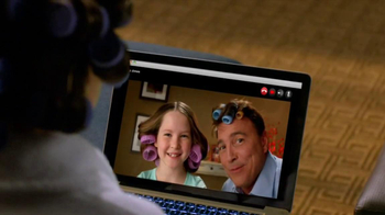 Choice Hotels TV Spot, 'Video Call, Husband with Hair Culers'