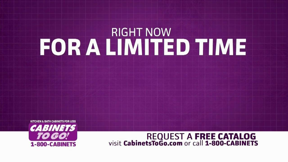 Cabinets To Go TV Spot, 'Free Upgrades' - Screenshot 2