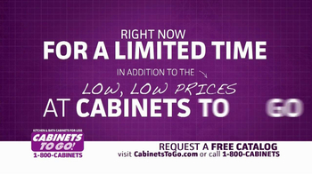 Cabinets To Go TV Spot, 'Free Upgrades' - Thumbnail 3