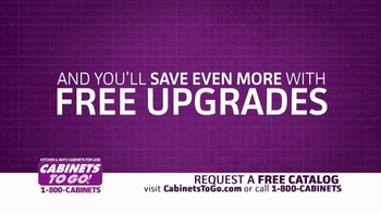 Cabinets To Go TV Spot, 'Free Upgrades' - Thumbnail 7