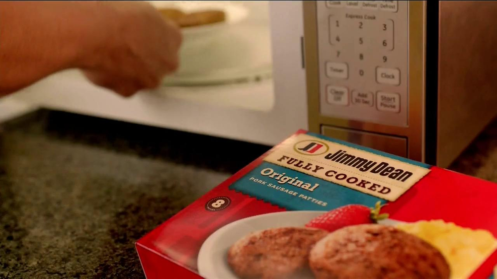 Jimmy Dean Fully Cooked Sausages TV Spot, 'Staring Contest' - Screenshot 1