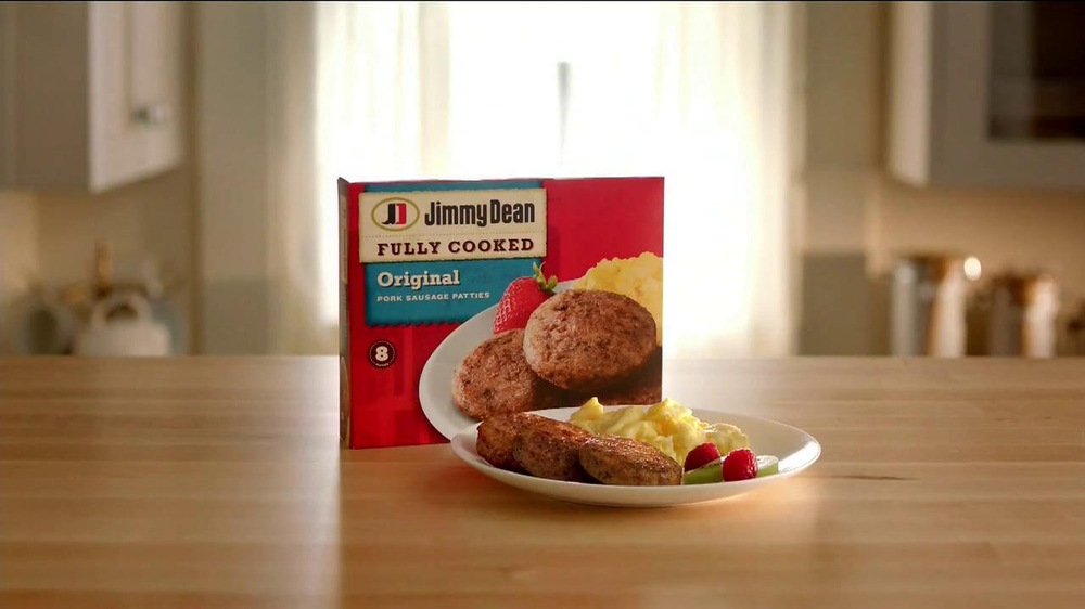 Jimmy Dean Fully Cooked Sausages TV Spot, 'Staring Contest' - Screenshot 10