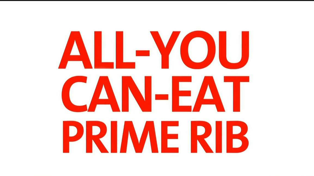 Golden Corral Prime Rib and Shrimp Weekend TV Spot  - Screenshot 4