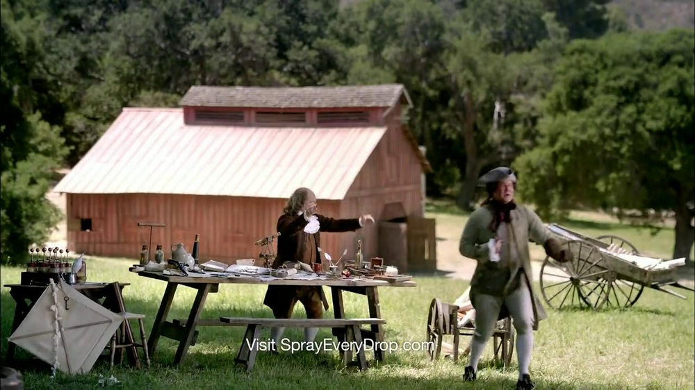 Clorox Smart Tube TV Spot, 'Benjamin Franklin'  - Screenshot 9