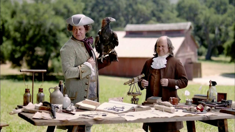 Clorox Smart Tube TV Spot, 'Benjamin Franklin'  - Screenshot 3