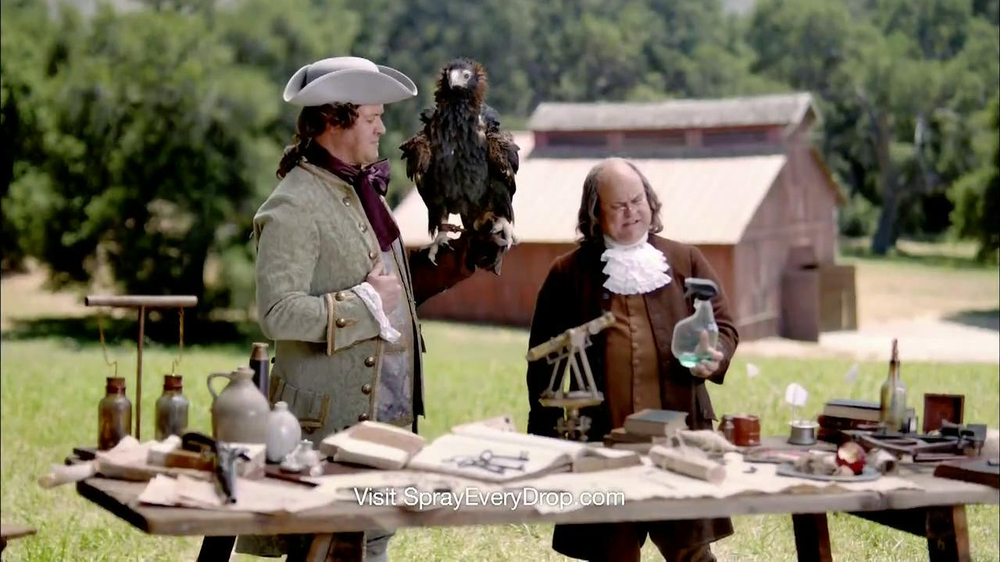 Clorox Smart Tube TV Spot, 'Benjamin Franklin'  - Screenshot 8