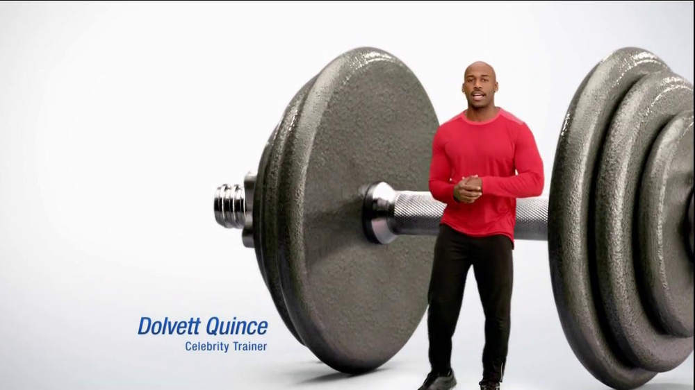 Dr. Scholl's Active Series TV Spot Featuring Dolvett Quince - Screenshot 2