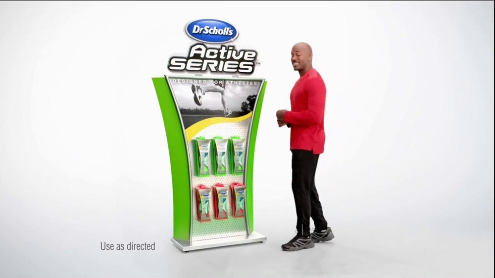Dr. Scholl's Active Series TV Spot Featuring Dolvett Quince - Screenshot 6