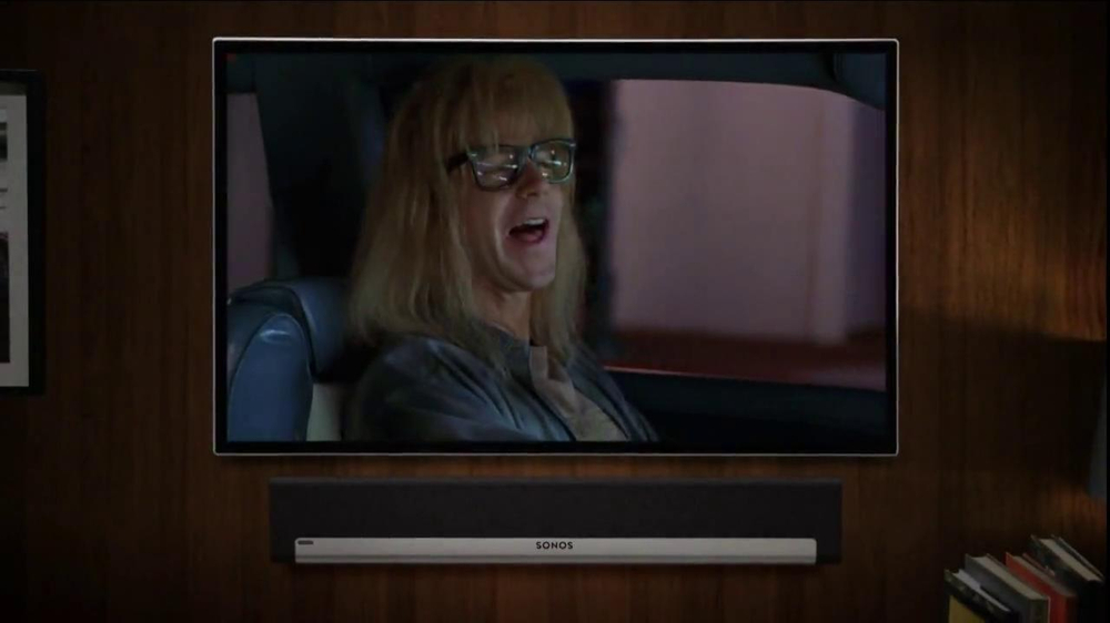 Sonos Playbar TV Spot, 'Wayne's World' Song by Queen - Screenshot 4