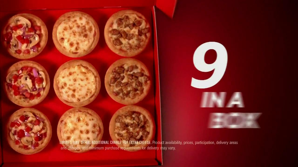 Pizza Hut Sliders TV Spot, 'Three Ways' Song by 1985 - Screenshot 5