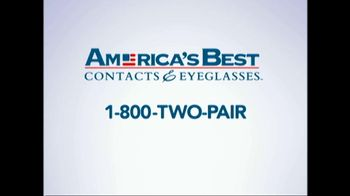 America's Best Contacts and Eyeglasses TV Spot 'Designer Sale' - Thumbnail 5