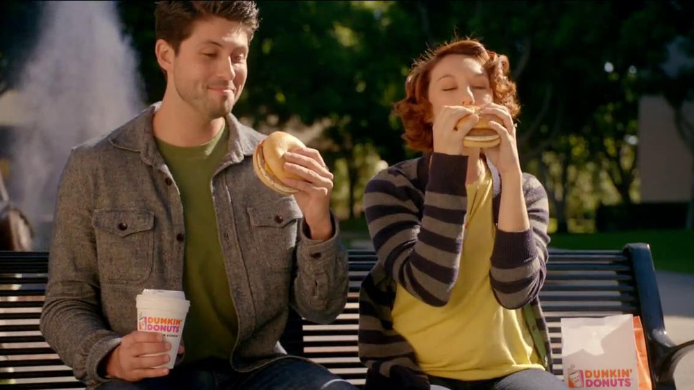 Dunkin' Donuts Angus Steak & Egg TV Spot, 'Fellow-Steak-Lover Handshake' - Screenshot 6