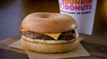 Dunkin' Donuts Angus Steak & Egg TV Spot, 'Fellow-Steak-Lover Handshake'