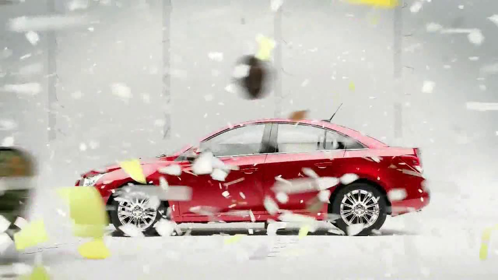 Chevrolet Cruze Eco TV Spot, 'Wind Test' - Screenshot 10