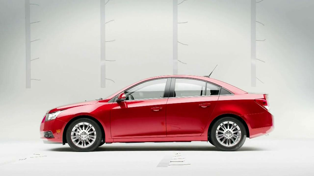 Chevrolet Cruze Eco TV Spot, 'Wind Test' - Screenshot 3