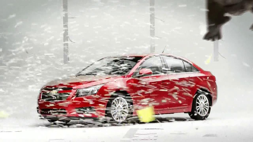 Chevrolet Cruze Eco TV Spot, 'Wind Test' - Screenshot 9
